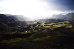No Named valley (Alleardo) Tags: islanda island iceland light green trekking mountain trip nature clouds landscape river nikon d750