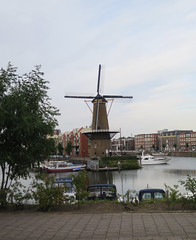 Rotterdam Delfshaven molen (Arthur-A) Tags: rotterdam delfshaven nederland netherlands molen windmill mill moulin muhle