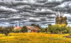DSC_3179_Sandstone Ruin_Painterly 2 (Manni750) Tags: sandstone ruin south australia heritage historic history sky clouds hdr landscape