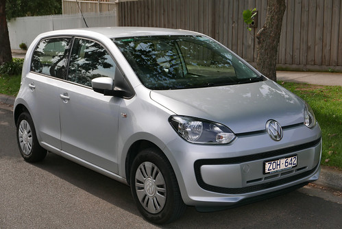 2012 Volkswagen up! (AA MY13) 5-door hatchback