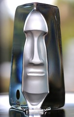 glass art face (HansHolt) Tags: face gezicht glass art glas kunst design renatestock sea glasbruk sweden kosta boda backlight tegenlicht macro bokeh dof abstract canon 6d canoneos6d canonef100mmf28macrousm