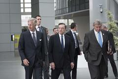 Visit by His Majesty the King of the Belgians (European Central Bank) Tags: europeancentralbank ecb mariodraghi philippeofbelgium belgium kingofthebelgians frankfurtammain