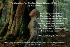 the minstrel speaks (jmm1972caribbean) Tags: poetry thranduil legolas verse fanfiction thewoodlandrealm mirkwood rhovanion