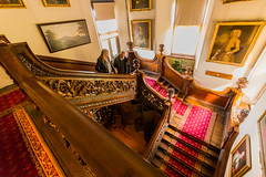 Dunster Stairs (trevorhicks) Tags: dunster castle national trust somerset
