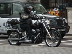 Harley-Davidson (kenjonbro) Tags: uk england black london westminster trafalgarsquare chrome harleydavidson charingcross sw1 kenjonbro fujifilmfinepixhs10