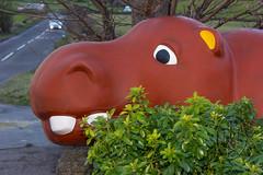 The Magical Moose is a Hippo (101) (PHH Sykes) Tags: art roy monkey artwork pub inn moose anthony hippo hippopotamus artworks creations the thurgoland youel