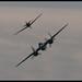B-25 and Zero Dogfight