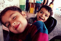 My Doughter Vanessa and Leonel (Luis Torres Photographer) Tags: people urban kids smiles