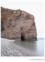 Bell Island Beach (Jennifer Squires) Tags: family cliff ontario canada london beach newfoundland cove rockformation bellisland travelphotography ferrydock landscapephotography seascapephotography september2012