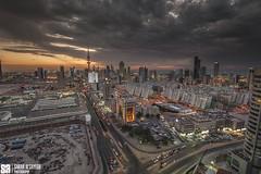 Kuwait - City Skyline Dramatic Clouds Over State Of Kuwait 2011 (Sarah Al-Sayegh Photography   www.salsayegh.com) Tags: city sunset skyline nikon cityscape trails kuwait dramaticclouds top20flickrskylines leefilters nikond700 wwwsalsayeghcom sarahhalsayeghphotography infosalsayeghcom