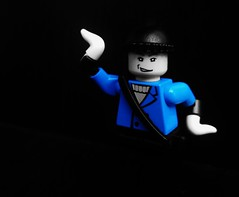 Captain Boomerang, Black and White Icon (Julius No) Tags: white black lego icon captain format boomerang