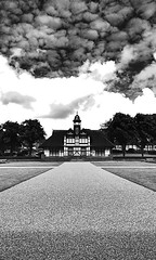 Burslem Park (Raven Photography by Jenna Goodwin) Tags: blackandwhite clouds landscape photography victorian stokeontrent burslem flickrandroidapp:filter=none