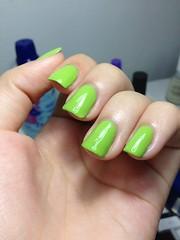 1. Verde ~ Desafio 10 cores 10 marcas (Gabbie ) Tags: verde green hands sassy nails manicure mos unhas revlon