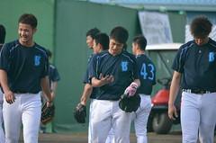 DSC_0441 (mechiko) Tags: 横浜ベイスターズ 130202 国吉佑樹 佐藤祥万 小杉陽太 横浜denaベイスターズ