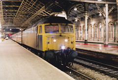 47462 (marcus.45111) Tags: night br glasgow stockport preston passenger duff 1990 class47 wcml brblue 47462 ukbuilt classictraction