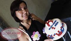 Bolo Marinheiro (Gloria Aguiar Cake Designer) Tags: rj vermelho bebê bolo menino marinheiro docedeleite pastaamericana boloazul gloriaaguiar