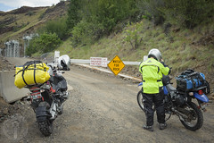 Not authorized (Trail Image) Tags: oregon ben motorcycle badmemory bmwr1200gsadventure kawasakiklr650