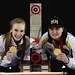 Canadian champs Brown and Dunstone