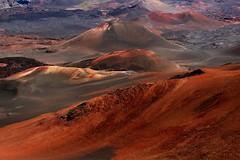 Haleakala Crater, Maui (LindaJ55) Tags: red vacation holiday volcano hawaii lava maui haleakala crater cindercones dormant dormantvolcano