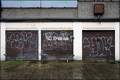 Regret / Choke SMC (Alex Ellison) Tags: urban graffiti tag smc reg southlondon choke throw regret throwie