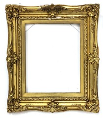 40. Carved and Gilt Continental Frame