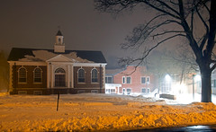 Guilford Free Library foggy night (Bob Gundersen) Tags: longexposure school winter usa moon white cold building green ice architecture night clouds dark landscape town photo interesting nikon flickr image shots connecticut library country shoreline foggy picture newengland ct places moonlight nightshots scenes gundersen guilford conn nikoncamera d600 guilfordgreen towngreen nikond600 connecticutscenes guilfordfreepubliclibrary guilfordlibrary bobgundersen robertgundersen