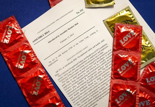 AHF/REP Isadore Hall Condom Law Press Conference
