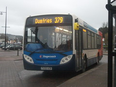 Stagecoach Cumbria Alexander Dennis Enviro 300 24116 Dumfries 16/02/13 (David_92) Tags: west north cumbria 300 alexander dennis stagecoach enviro dumfries 24116 axb px59 px59axb