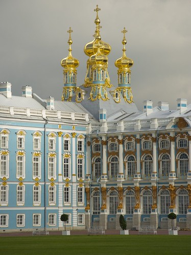 ...Pushkin (Tsarskoye Selo) and Catherine Palace... [Try L]