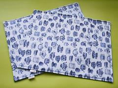 Jogo Americano (Meia Tigela flickr) Tags: handmade artesanato artesanal craft decoração jogo mesa xícara bule chá americano tecido estampado jogoamericano feitoamão