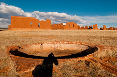 fort union (Sam Scholes) Tags: shadow usa newmexico brick me digital buildings army nikon ruins sam fort military unitedstatesofamerica foundation adobe remains nationalmonument usarmy d300 unitedstatesarmy fortunion watrous moracounty fortunionnationalmonument