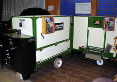 Hilgendorf CSF Feed Carts. (dccradio) Tags: wisconsin mall farming equipment machinery ag agriculture wi agricultural farmequipment farmshow marshfield farmmachinery centralwisconsin shoppesatwoodridge marshfieldmall wisconsinfarming machineryshow agshowagricultureshow