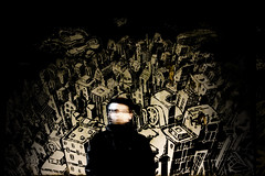 Open Blured Citizen (Diego Almazn) Tags: shadow blur contrast graffiti cork mariusz waras mcity