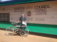 2013.02.28 WTTC Motto - KE (The Michi) Tags: africa bicycle kenya nairobi engine motorized wttc flickrandroidapp:filter=none waithakatechnicaltrainingcentre
