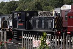 20110807 020 Tunbridge Wells West. 'SOUTHERHAM' 0-4-0DM Built 1959, Robert Stephenson & Hawthorns Ltd, Works No. 7924 (15038) Tags: industrial br diesel trains locomotive railways britishrail 7924 spavalleyrailway southerham tunbridgewellswest 040dm robertstephensonhawthornsltd rshltd