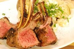 Simply delicous (gadgetgeek) Tags: ribs lamb bge biggreenegg rackoflamb fridaydinner lambribs shadybrookfarm frenchedbones