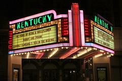 Kentucky Theater Marquee - Downtown Lexington (SeeMidTN.com (aka Brent)) Tags: kentucky ky lexington theater marquee kentuckytheater neon bmok us60 us421 brentandmarilynnpersonalfavorite colorfulbannerproject