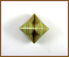Box Lid - Fuse (rebecccaravelry) Tags: origami box fuse tomokofuse