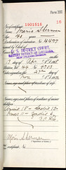 Moris Sherman (Naturalization) (keithsjackson) Tags: sherman naturalization