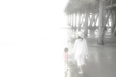 White (BrentGoldman|Photography) Tags: light pier heaven santamonica daughter mother master shining