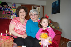 3 Generations (Sim-tov) Tags: birthday family party portrait carla feb 70th noa bubbe 2013