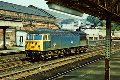 56020. (curly42) Tags: station grid britishrail huddersfield lightengine class56 56020