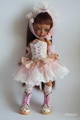 Hania (venecja1) Tags: dolls dress tan michelle bjd dollfie msd momocolor