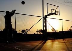 Canestro - F (Sisio88) Tags: 3 silhouette basket centro ombre volo area campo salto riflessi punti controluce croce lunetta palla azione canestro dinamica