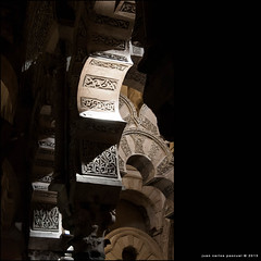 Arqueras. EXPLORE #74 (13/03/2013) (Arquijcarlos) Tags: espaa detalle luz andaluca arquitectura monumento interior catedral iglesia mezquita crdoba arco sombras texturas
