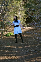oh, hi Kaitlyn and Hillrise. (hillrise-americana) Tags: park nature bright disney kaitlyn aliceinwonderland localpark hillrise hillrisepark