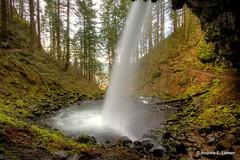 Under the Falls (Andrew E. Larsen) Tags: papalars andrewlarsenphotography
