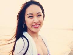 Minami ~ (Yves.) Tags: sunset sea beach smile japanese warmth vietnam minami tones muine