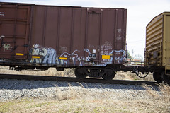 Atak  Tre (Revise_D) Tags: railroad art bench graffiti tre bf freight atak revised nsf trainart fr8 railart benching fr8heaven fr8aholics