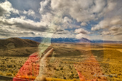 Reflections From the Oregon Trail (SimplyAmy74) Tags: city sky selfportrait mountains beautiful clouds oregon reflections joseph nikon baker oregontrail whiteclouds